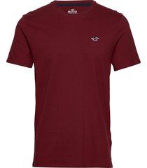 crew solids t-shirts short-sleeved hollister