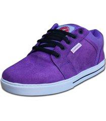 zapatilla violeta  casbah shoes attitude