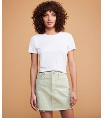lou & grey boyish corey skirt in el cielo