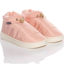 slippers padded boots mujer thm rosado