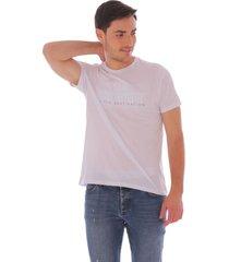 camiseta casual blanca - hombre