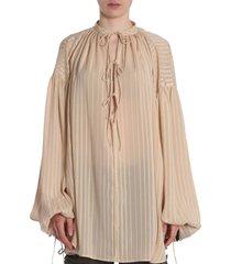 saint laurent marocain blouse