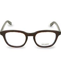 51mm square core blue light reader glasses