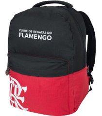 mochila do flamengo esportiva teen 01 xeryus - infantil - preto/vermelho