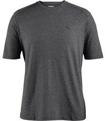 wolverine men's edge short sleeve tee black heather, size m