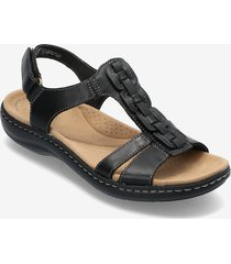 laurieann kay shoes summer shoes flat sandals svart clarks