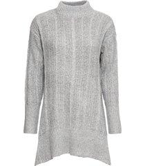 maglione lungo asimmetrico (grigio) - bodyflirt