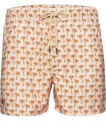 beige palm swim shorts badshorts rosa oas