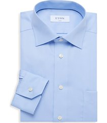 classic-fit patch pocket dress shirt
