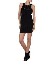 miss sixty jurk - marlene dress - zwart / black