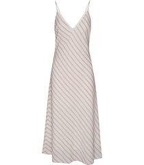 bias striped camisole dress