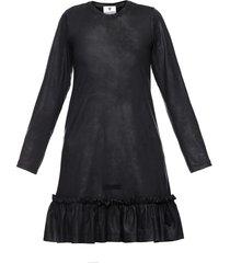 sukienka czarna falbana ii