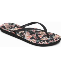 roxy women's bermuda flip flops women's shoes