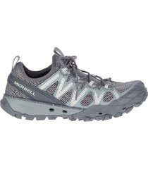 zapato gris merrell mujer j033450-qp8