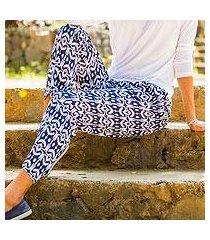 rayon pants, 'candidasa night' (indonesia)