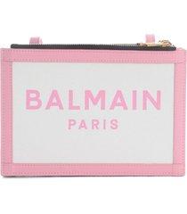 balmain three pouches 22-canvas & logo