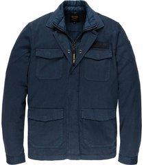 overhemd cargo shirt jack donkerblauw
