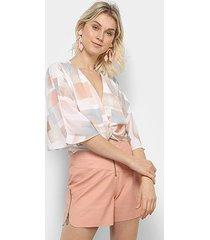 blusa acostamento top cropped feminina