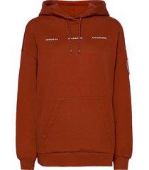placebo print hoodie 20-04 hoodie trui rood holzweiler