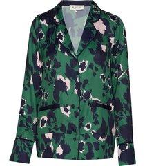 gia shirt blouse lange mouwen groen by malina