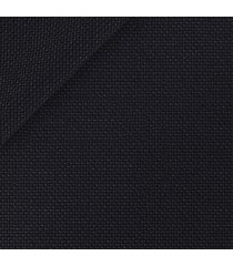 giacca da uomo su misura, carlo barbera, assoluto blu hopsack, quattro stagioni | lanieri