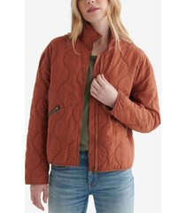 women's carry on quilted jacket