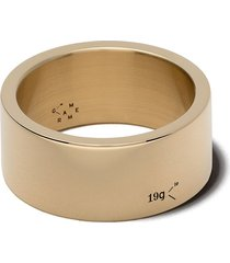 le gramme 18kt yellow polished gold ribbon le 19 grammes ring - yellow