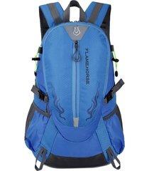 mochila/ impermeable amantes al aire libre mountaineer-azul