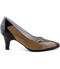zapato negro briganti mujer romy