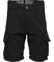 crew short shorts casual svart alpha industries