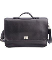 "13"" leather laptop briefcase"