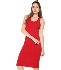 vestido rojo active