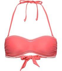 maya moulded bandeau bikinitop rosa hunkemöller