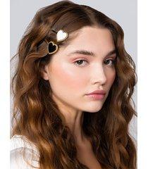 akira queen of hearts hair clip set
