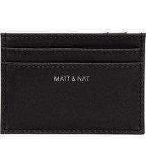 matt & nat max card holder, black