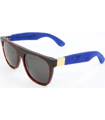 gafas de sol retrosuperfuture flat top suede 900