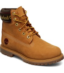 6in premium boot l/f- w shoes boots ankle boots ankle boots flat heel brun timberland
