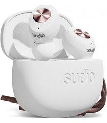 audífonos tolv bluetooth in ear true wireless blanco sudio