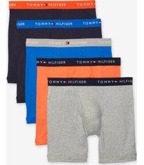 tommy hilfiger men's 5-pk. classic cotton boxer briefs