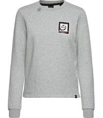 amsterdams blauw women sweat-shirt tröja grå scotch & soda