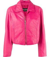 a.n.g.e.l.o. vintage cult 1990s cutaway collar jacket - pink
