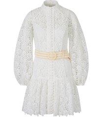 guipur empire dress