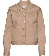 calina jacket zomerjas dunne jas bruin minus