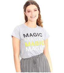 camiseta color gris, cuello redondo, manga corta color-gris-talla-xs