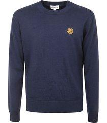 kenzo tiger crest crewneck sweater