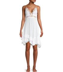 adella lace slip dress