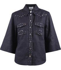 blouse licht linnen