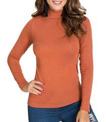 blusa iron terracota para mujer croydon