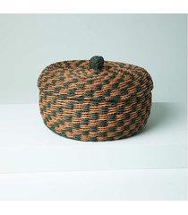 cesta aimará cor: verde - tamanho: único