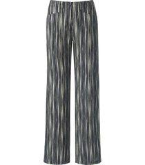 broek model farina 100% linnen van brax feel good grijs